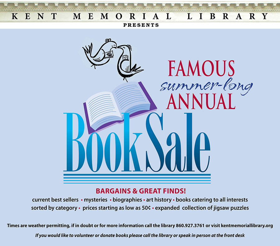 2018 annual book sale kent memorial library 2018 annual book sale fandeluxe Choice Image